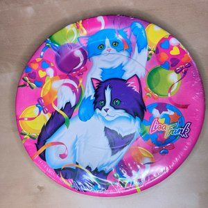 New NOS Vintage 90s Lisa Frank Kitten Love Plates